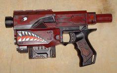 custom painted nerf | Borderlands 2 Custom Painted Nerf Recon Space Gun Cosplay LARP