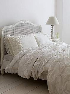 Shabby Chic Primrose king size bedstead - House of Fraser