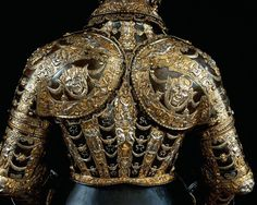 Lucio Piccinino (Goldschmied und Treibkünstler) (um 1575 - 1595, tätig in Mailand) Prunk-Garnitur für Reiter und Pferd um 1575 BESITZER: Herzog Alessandro Farnese, Herzog von Parma und Piacenza (1545 - 1592)