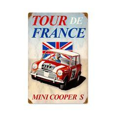 mini Cooper above crib