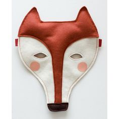 Fox felt mask for kids by fridastierchen on Etsy. Sewing For Kids, Diy For Kids, Fox Mask, Felt Fox, Crafty Fox, Conkers, Carnival Masks, Kids Carnival, Love Hat
