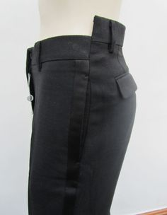 misaligned tuxedo trousers • martin margiela£87.50 BIN