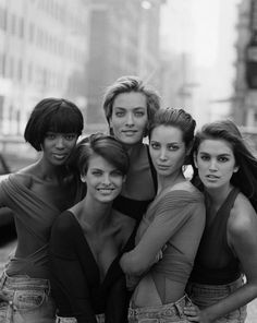 90s Supermodels -these girls always were the epitome of beauty to me