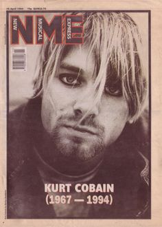 NME Kurt Cobain cover 16th april 1994