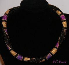 Häkelkette - Bead Crochet Rope - Glamour