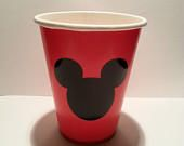 Mickey Mouse Birthday Party Cup