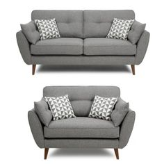 Magnificent Grey Retro Sofa , Trend Grey Retro Sofa 31 About Remodel Sofa Design Ideas with Grey R. Cuddle Chair, Chair Sofa Bed, Grey Sofa Bed, Grey Couches, Grey Chair, Small Grey Sofa, Modern Grey Sofa, Contemporary Sofa, Living Room Grey
