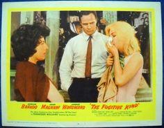 THE FUGITIVE KIND MOVIE POSTER Marlon Brando Anna Magnani Tennessee Williams #4