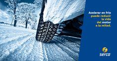 Con la bajada de las temperaturas recomendamos evitar #acelerar en frío, pues puede reducir la vida del #motor a la mitad. http://www.serca.es  #auto   #car   #consejos   #tips   #recambios   #automoción   #automovil   #coche   #mecanica   #curiosidades   #coches