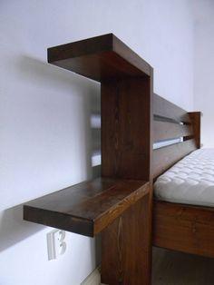 Nábytok - Posteľ z masívneho dreva - 7173031_