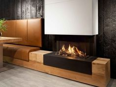 Our extensive Kalfire range of fireplaces offer a unique vision on the design, engineering, ease of use and performance on all their closed gas and wood burning fires. Reinforcing their position as on Fireplace Tv Wall, Small Fireplace, White Fireplace, Modern Fireplace, Living Room With Fireplace, 3 Sided Fireplace, Luxury Bedroom Sets, Luxurious Bedrooms, Luxury Bedding