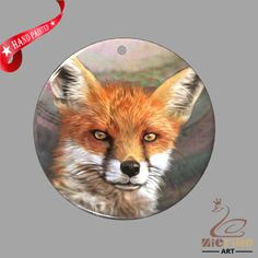 FASHION NECKLACE HAND PAINTED FOX SHELL PENDANT ZP30 01077 #ZL #PENDANT