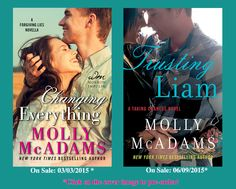 Toot's Book Reviews: Double Cover Reveal: Molly McAdams TRUSTING LIAM & CHANGING EVERYTHING