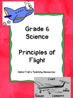 This unit meets all the outcomes of the Saskatchewan Grade 6 Science curriculum for the Principles of Flight. It is suitable for use in any Grade 6 class that is studying flight and things that fly.There are three units in this resource that address the following outcomes: Outcome FL6.1: Examine connections between human fascination with flight and technologies and careers based on the scientific principles of flightOutcome FL6.2: Investigate how the forces of thrust, drag, lift and gravity…