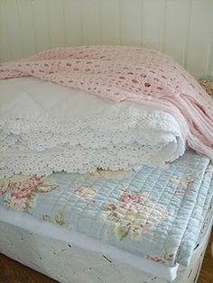 Pastels - I have this quilt on my bed now :)