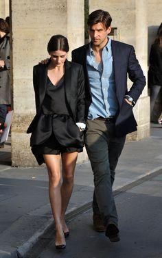 He's not my type and shee's not my type but I gotta say they, Olivia Palermo & Johannes Huebl, make sense together.