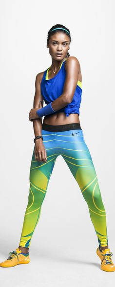 Colorful culture. The Nike Tight of the Moment x Brasil.