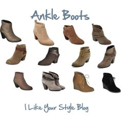 Ankle Boots, Style Tips on how to wear Ankle Boots