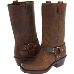 YES! I've wanted Frye Harness boots for so long thanks to Jillian Harris, but she just posted a pic of her wearing these! ON SALE FOR $69.30!!!