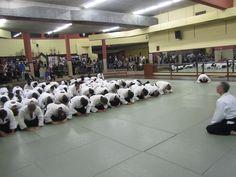 Exhibición y clase conjunta realizada el 14 de septiembre con los miembros del Club de Aikido de la Universidad de Tokyo.