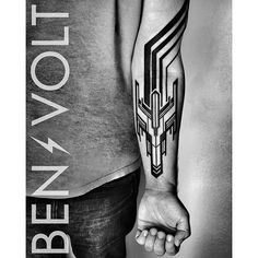 Vintage #8bit #Galaga #inspired #rocketship and linear #opart exhaust trail movement. Thanks for your trust and for coming all the way from New Orleans, Dan! First tattoo!!! #benvolt #blackwork #tattoo #tattoos #graphicdesign #scholartattoo #sanfrancisco #blackworkerssubmission #blxckink #blacktattooart #equilatera #tattooartistmagazine