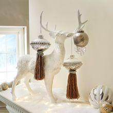 Rhinestone Tassel Christmas Ornament