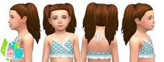 Peppy Pigtails - Summer Pigtails Collection (Part 01) - The pigtails are available for children - elder females. This hair is not, properly, hat compatible. This is because I have some (hat)...