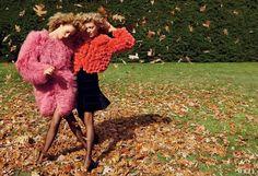 Fashionable autumn.