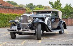 1936 Duesenberg Model J Rollston Victoria Coupe