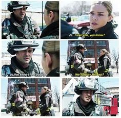 Severide and Shay <3