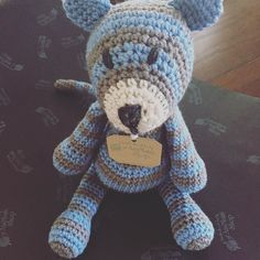 This guy went to his new home in Florida recently! #amimamishop #edsanimals #crochetconcupiscence #amigurumi #crochet #handmade by amimami_shop