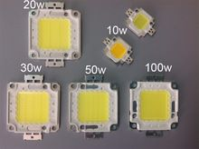 20W 30W 50W 100W COB LED Chip high power DC 30V-36V Integrated Beads SMD For Floodlight Spotlight Warm White /White outdoor 20W 30W 50W 100W COB LED Chip high power DC 30V-36V Integrated Beads SMD For Floodlight Spotlight Warm White /White outdoor 20w 30w 50w 100w high power led product name: high power led 20w 30w 50w 100w Chip size: 24 MIL * 44 MIL Color temperature: warm white (2800-3500K) white (6000k-6500K) Luminous flux: 90-110 lm / w Forward current: 20w (600mA) 30w
