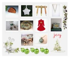 """Holiday Collage #8"" by keepsakedesignbycmm ❤ liked on Polyvore featuring Nearly Natural"