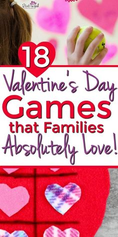Make your Valentine's celebration memorable with these fun and easy games and activities. Your children will love these super simple games and the bit. Valentines Games, Valentines Day Activities, Valentines Day Party, Valentine Day Crafts, Easter Crafts, Family Game Night, Family Games, Games For Kids, Family Activities
