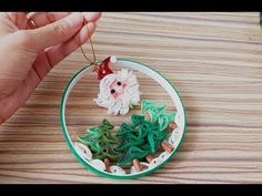 Quilling of Christmas Ideas - Easy & Simple Christmas design 21 - YouTube