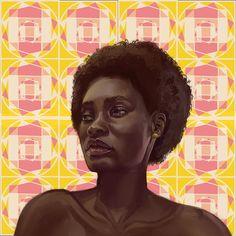 Awesome Art, Cool Art, Animation Sketches, Artwork Display, Afro Art, Gcse Art, Black Artists, Spongebob, Figurative Art