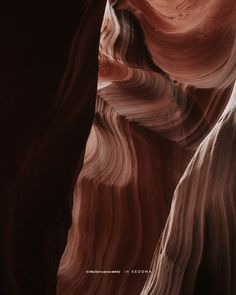 A close up photograph of Antelope Canyon in sedona, arizona. I booked a creative travel photography tour to capture the beautiful places and best things to do in sedona including the rock formations and hiking trips. Explore more on my travel and lifestyle blog where I share my solo female travel aesthetic, my hiking style outfits while in sedona, photography tips on tour and a lesson in self love inspired by the rock formations in spiritual sedona, arizona. #sedona #arizona #antelopecanyon