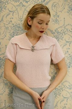 So Completely Feminine sweater pattern by Susan Crawford | Ravelry
