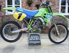 Kurt Nicoll Kawasaki KX 500 cc. 1988
