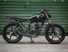 "470 Likes, 5 Comments - Curated Moto (@curatedmoto) on Instagram: ""Beetle - Yamaha 125cc 0km. #beetle ( # @benditamacchina )  #caferacer #caferacers #caferacerxxx…"""
