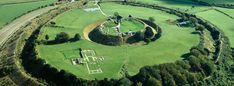 Old Sarum  Discover the story of the original Salisbury and take the family for a day out to Old Sarum, 2 miles north of where the city stands now. The mighty Iron Age hill fort was where the first cathedral once stood and the Romans, Normans and Saxons have all left their mark.