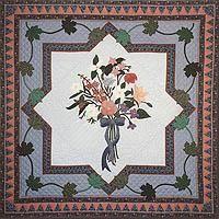 Provincial flowers quilt