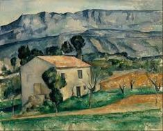 House in Provence Paul Cezanne