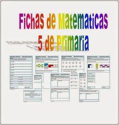 """Las """"Fichas de Matemáticas de 5º de Primaria"""" constituyen un conjunto de actividades de repaso del área de Matemáticas de 5º nivel de Educación Primaria. Están bien concebidas didáctica y estéticamente y comprenden algunos de los contenidos principales del nivel: números, operaciones y resolución de problemas."""