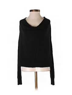 BCBGMAXAZRIA Women Long Sleeve Silk Top Size XS