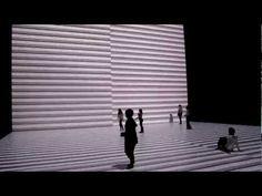Ryoji Ikeda - The Transfinite, Footage from the video installation at the Park Avenue Armory. New York, NY.