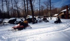There are miles of snowmobile trails all through Clearfield County. Come and start exploring!