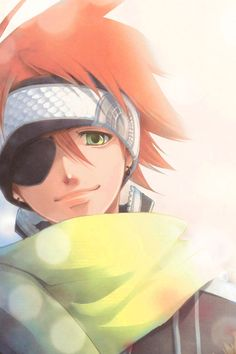 Awesome picture of Lavi from D.Gray Man