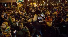 Manifestantes usan redes sociales para planificar protestas en Nueva York