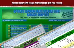 [File Pendidikan] Aplikasi Raport Jenjang SMK menggunakan Microsoft Excel Download Gratis